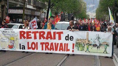 Loi travail : 5 juillet, en Charente Maritime, on ne lâche rien !
