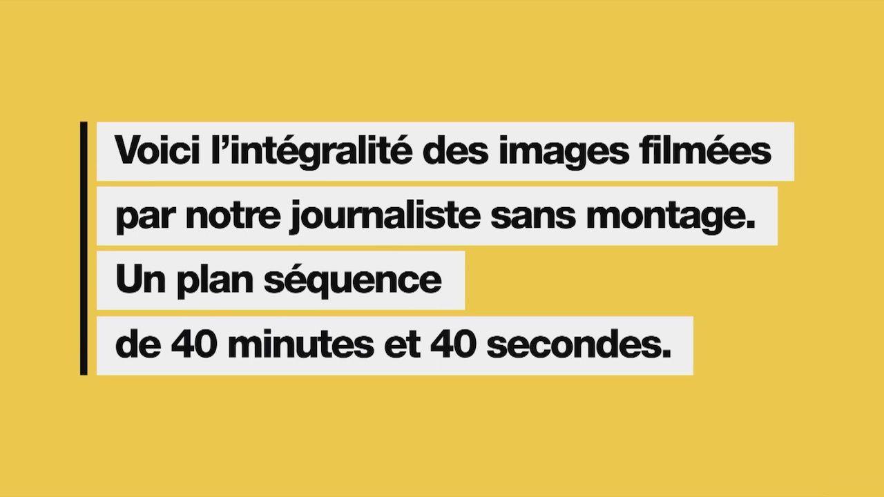 Capture d'écran de la vidéo de Quotidien