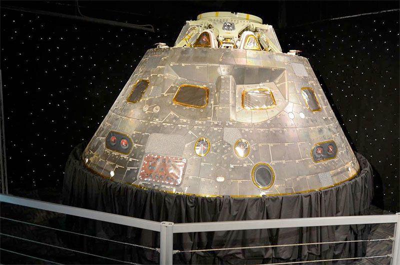 Orion EFT-1 au Visitor Complex du KSC.