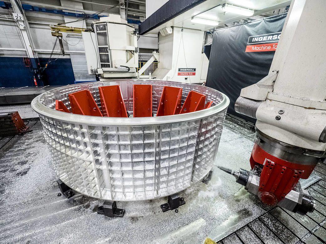 Début de la construction d'Orion EM-2