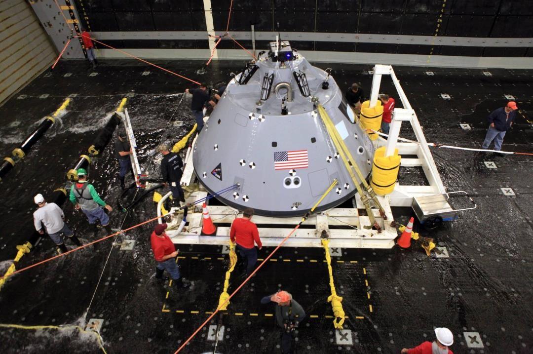 6 ème test de récupération d'Orion
