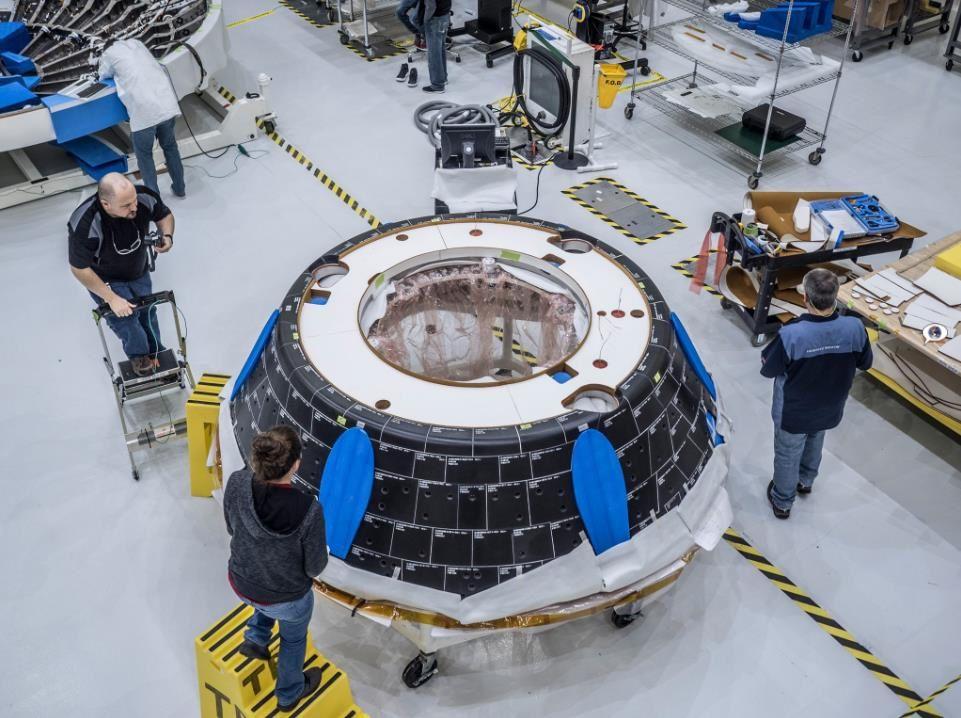 Assemblage d'Orion EM-1
