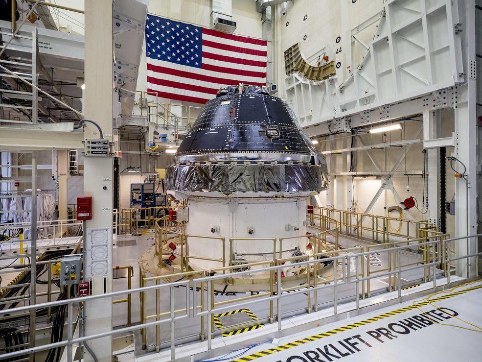 Contrat de production et d'exploitation signé jusqu'à 12 vaisseaux spatiaux Orion
