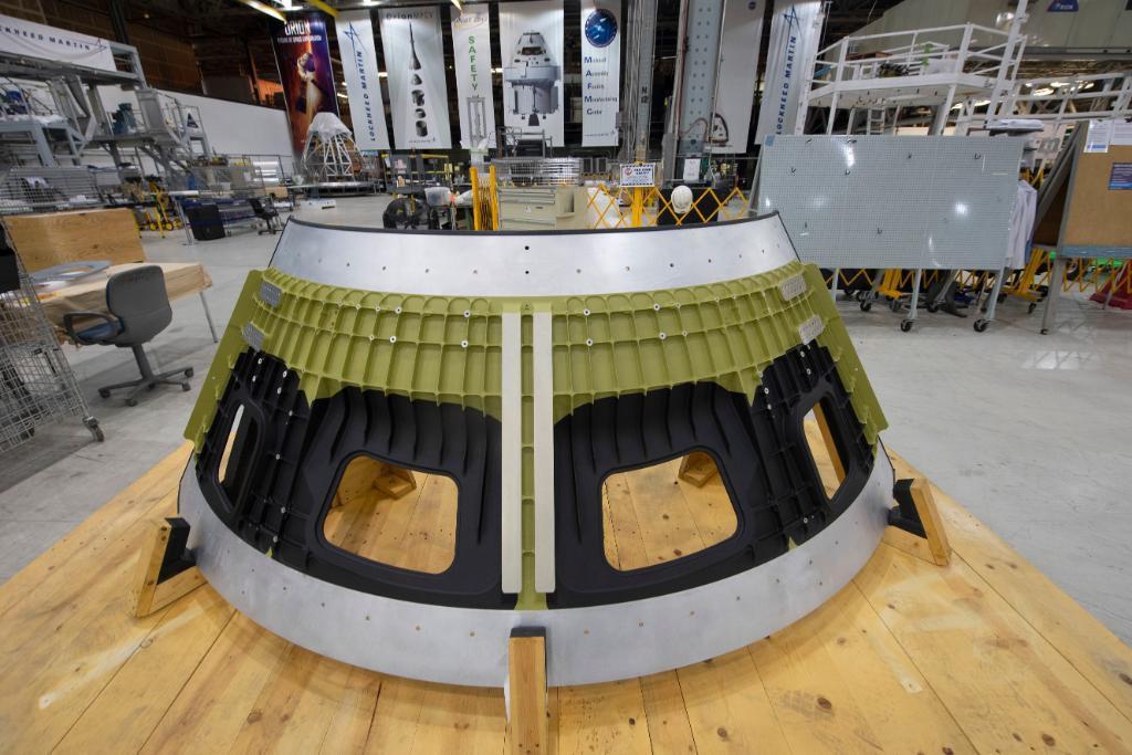 La construction d'Orion Artemis III a débuté
