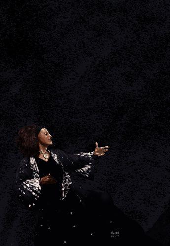 Jessye Norman lyrique classique diva hommage tribute opéra scène cantatrisse chanteuse noire