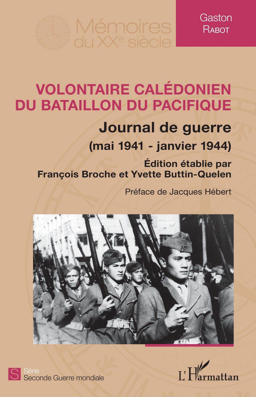 Volontaire calédonien du bataillon du pacifique de Gaston Rabot