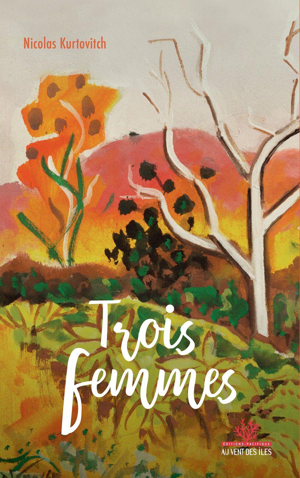 Le dernier livre de Nicolas Kurtovitch, Trois femmes, est aussi disponible en numérique