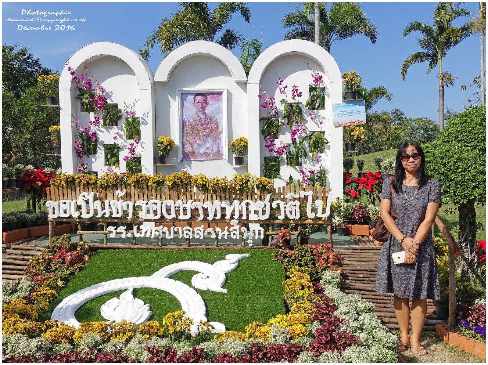 Festival flowers Khon Kaen (Thaïlande)