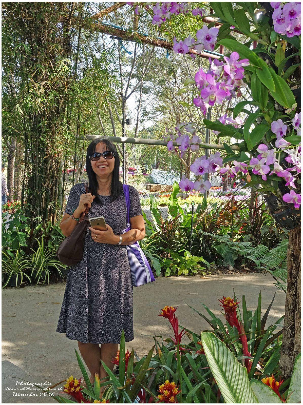 Festival des fleurs de Khon Kaen (les orchidées)
