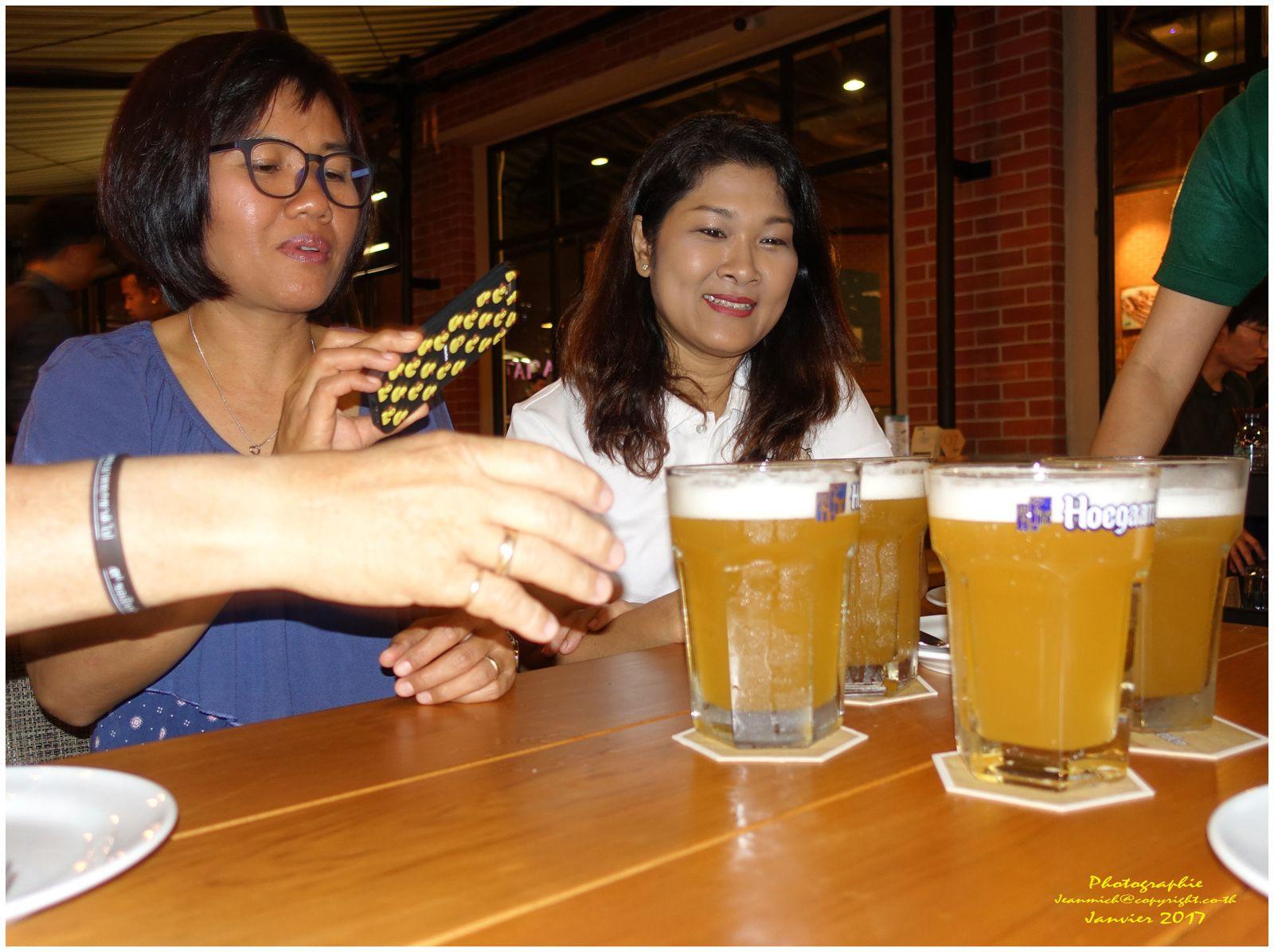 Soirée anniversaire à Bangkok