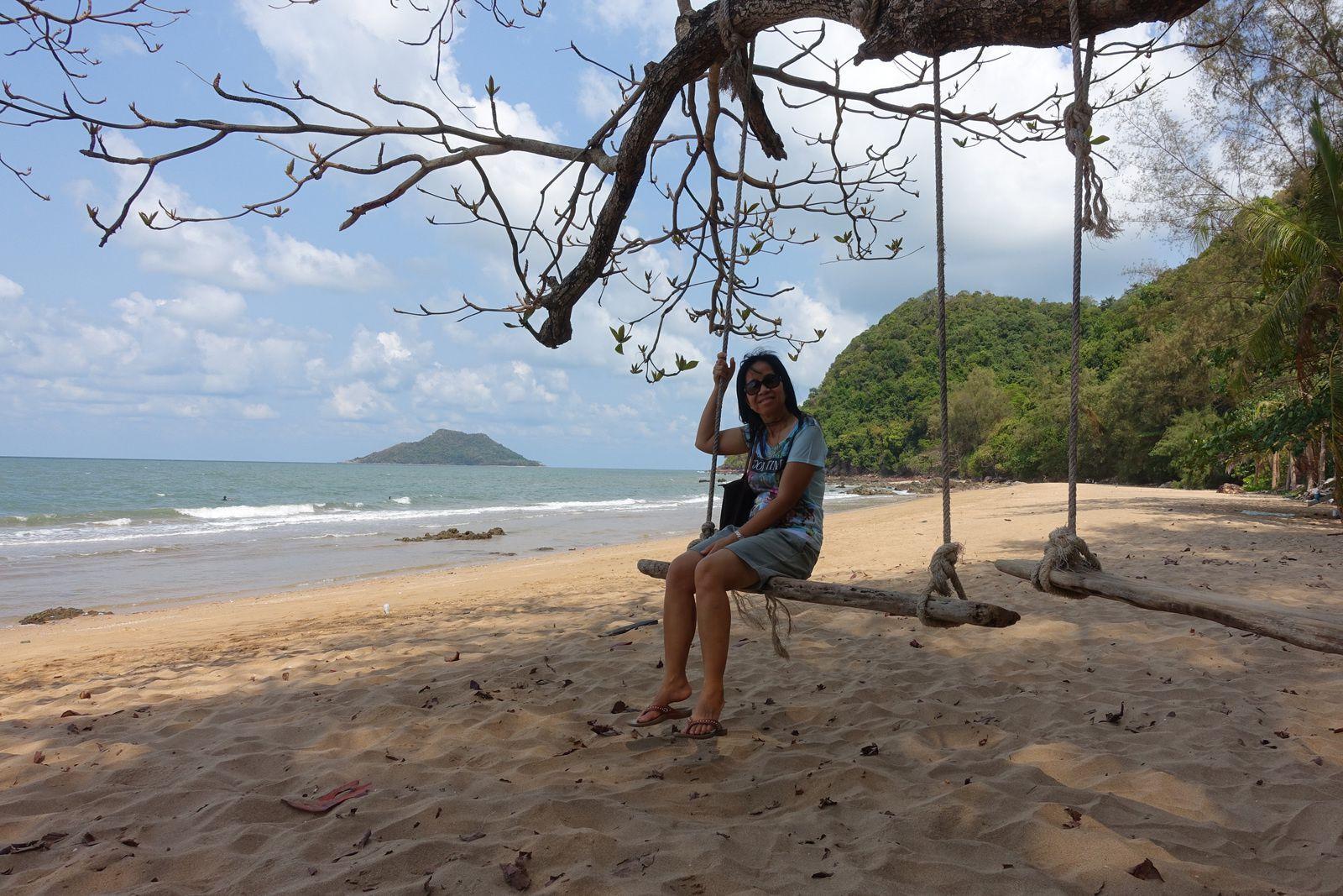 Photo numéro 18  (Petite plage près de Khlong Khut Chantaburi)