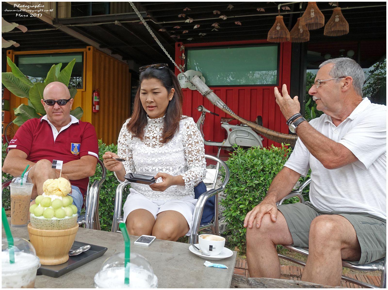 Un bon moment entre amis (Thaïlande)