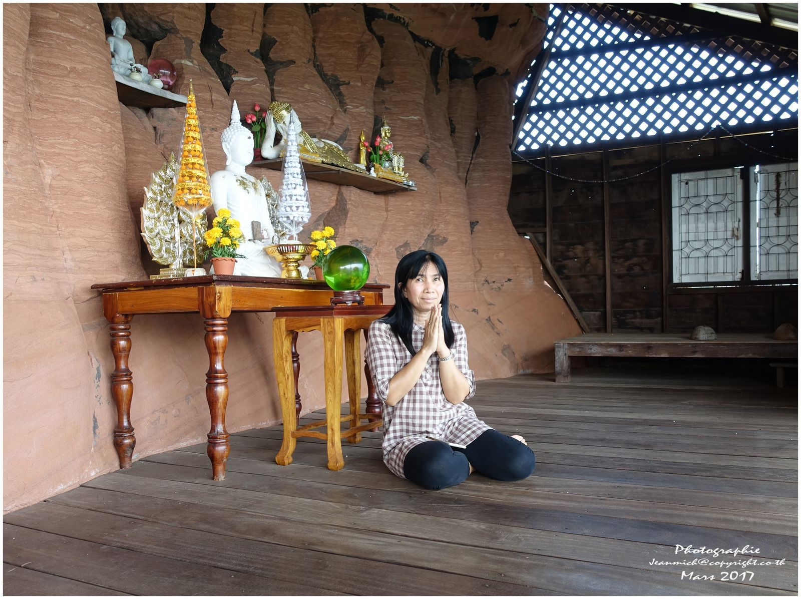 Wat Phu Tok ou Wat Jetiyakhiri 2ème partie Thaïlande (Bueng Kan)