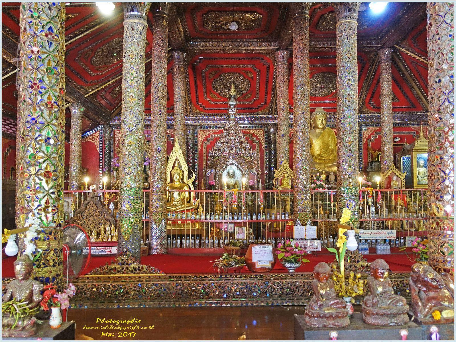 Lampang et le Wat Si Rong Muang