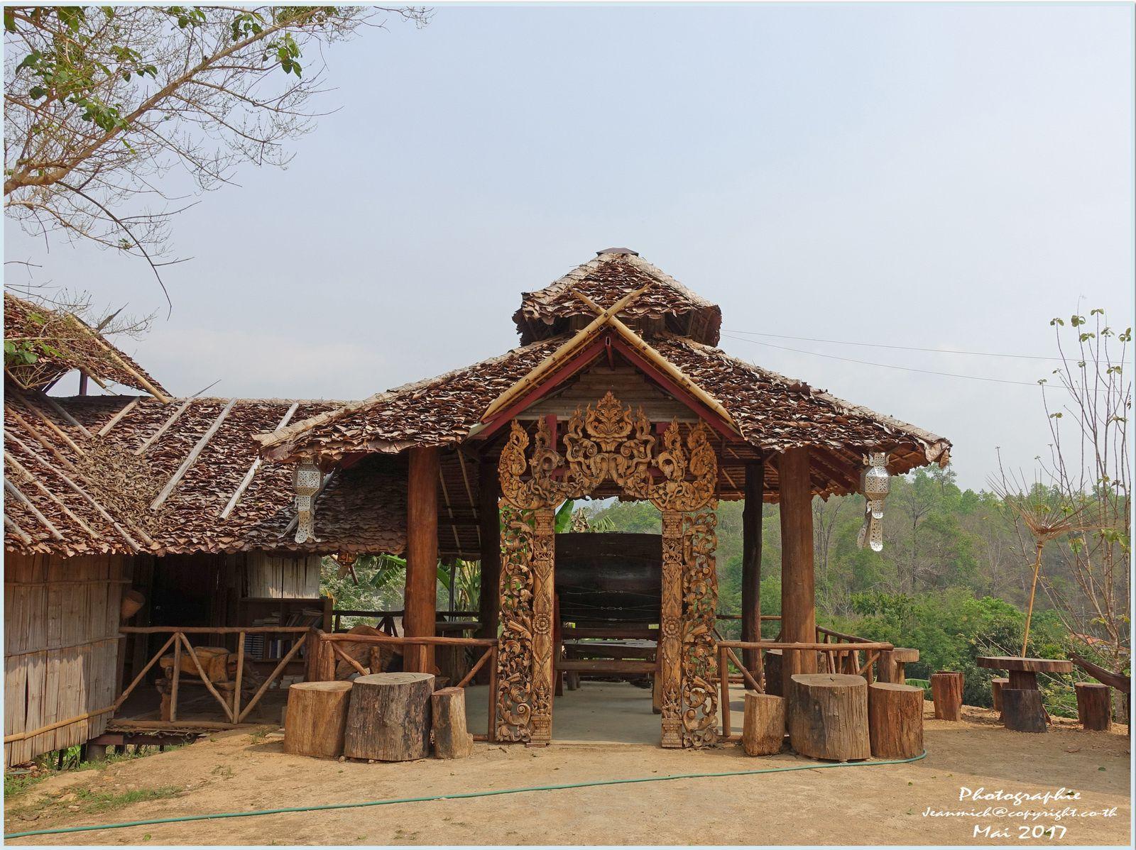 Le pont de bambou de Mae Hong Son (Nord Thaïlande)