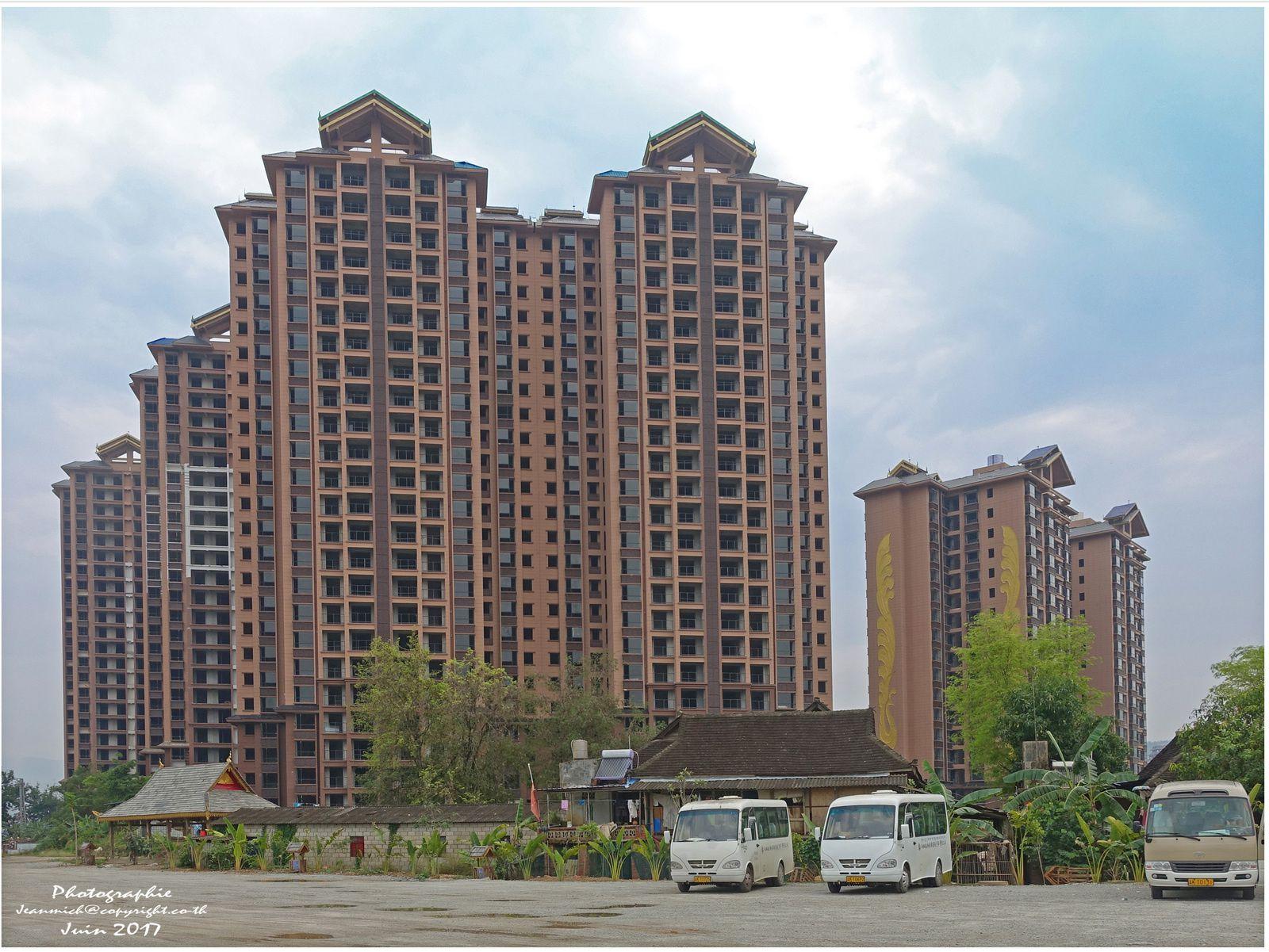 Un quartier conservé dans la ville chinoise de Xishunagbanna