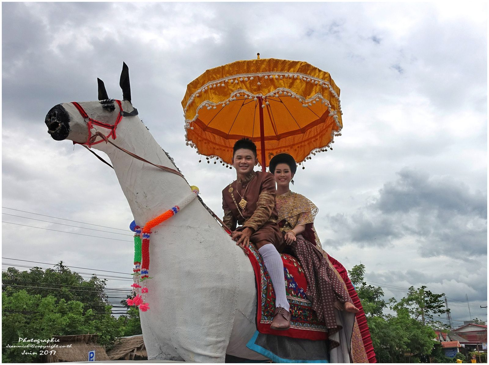 Rocket festival (Thaïlande, Ubonrat)