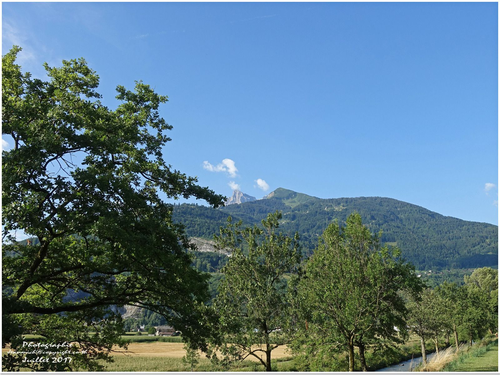 Promenade matinale (Monthey, Suisse)