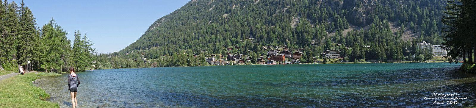 Champex le lac, merveilleux endroit (Suisse, Valais)