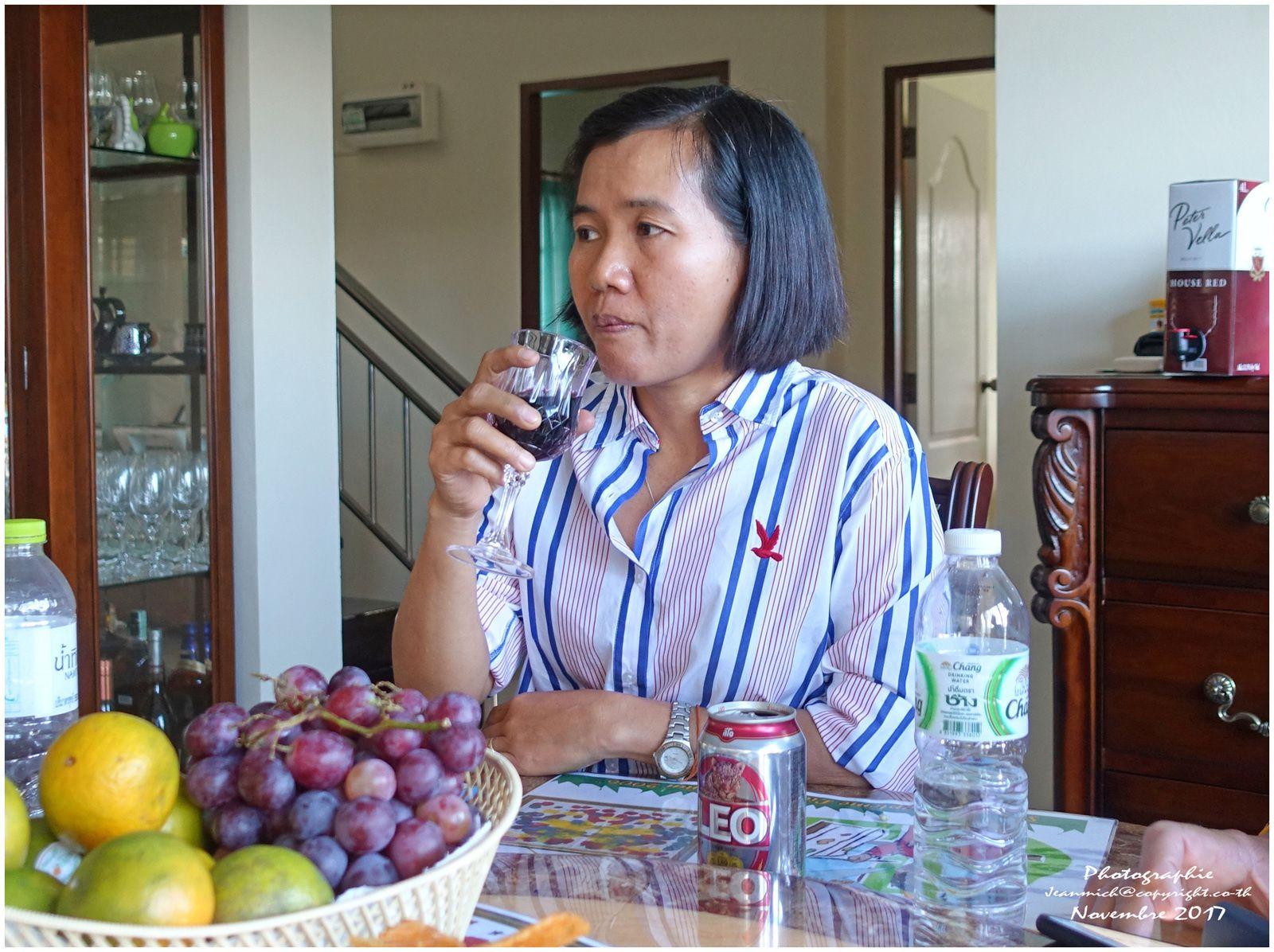 Invitation chez Malaiwan et Paul (Khon Kaen, Thaïlande)