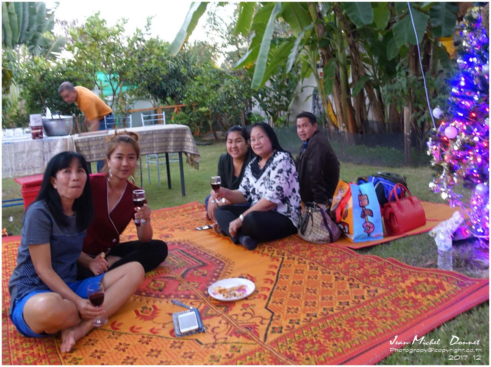 Un superbe réveillon (Ubonrat, Thaïlande)
