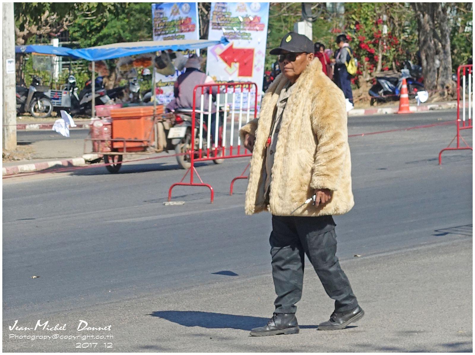 A ceux qui douteraient qu'il fait froid en Thaïlande....