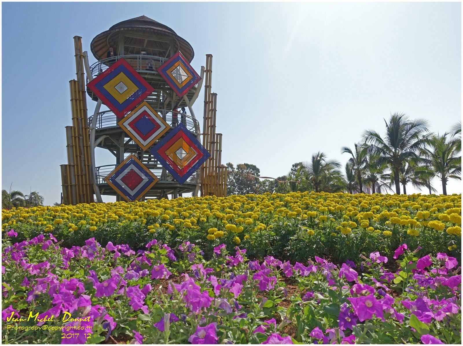 Les floralies de Khon Kaen I (Thaïlande)
