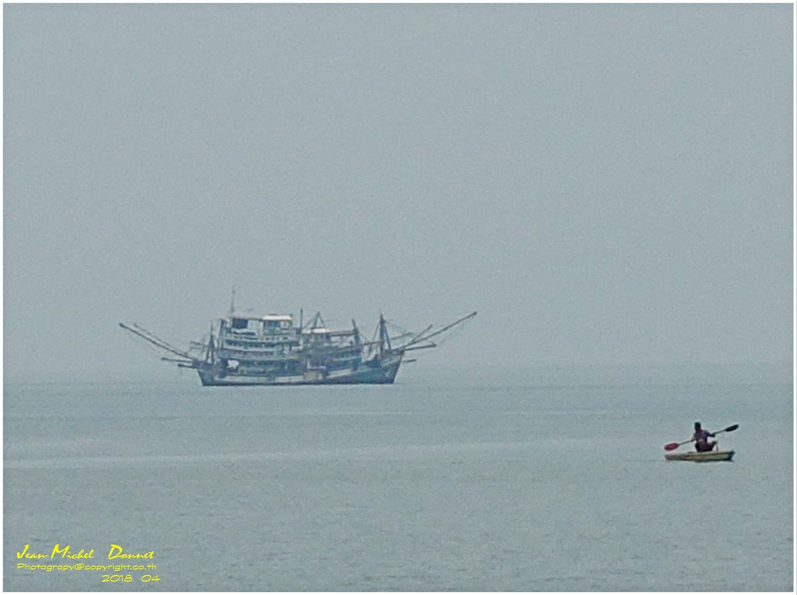 Le tour de l'île de Ko Chang... (presque...)