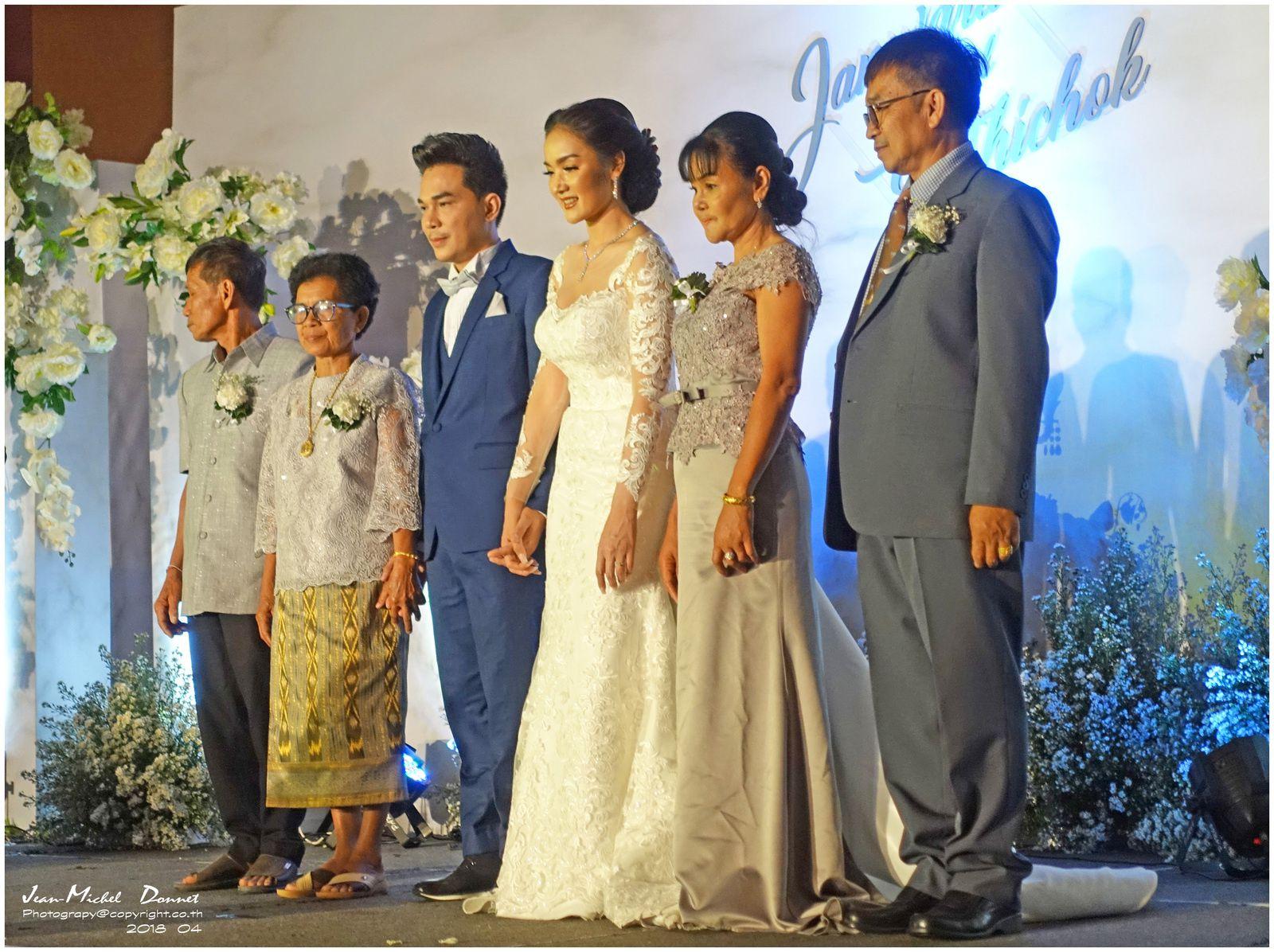 Mariage Thaï (avril 2018)