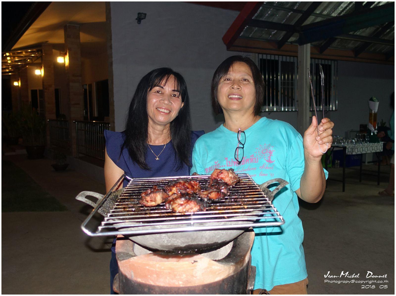 Anniversaire de Craig (Ubonrat, Thaïlande)