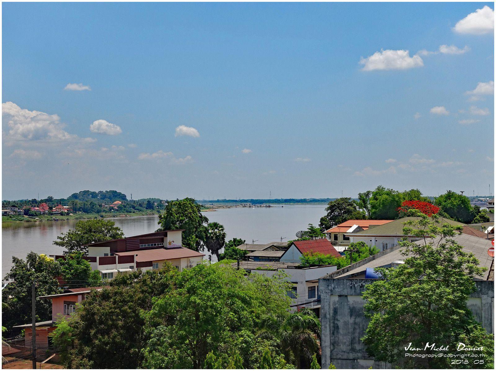 Nong Khai, ville frontière en bordure du Mékong