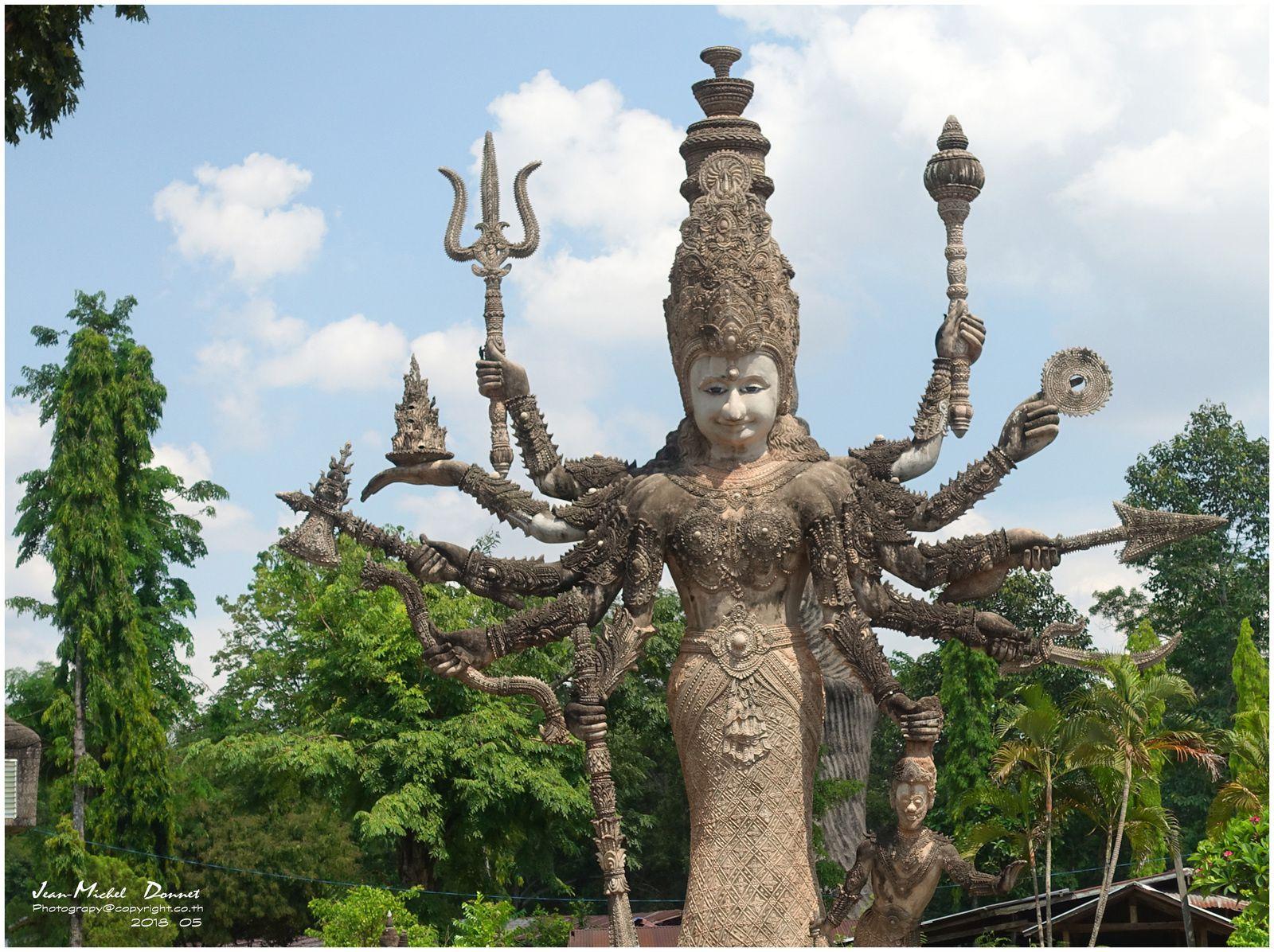 Le parc de Sala Kheoku (Nong Khai Thaïlande)