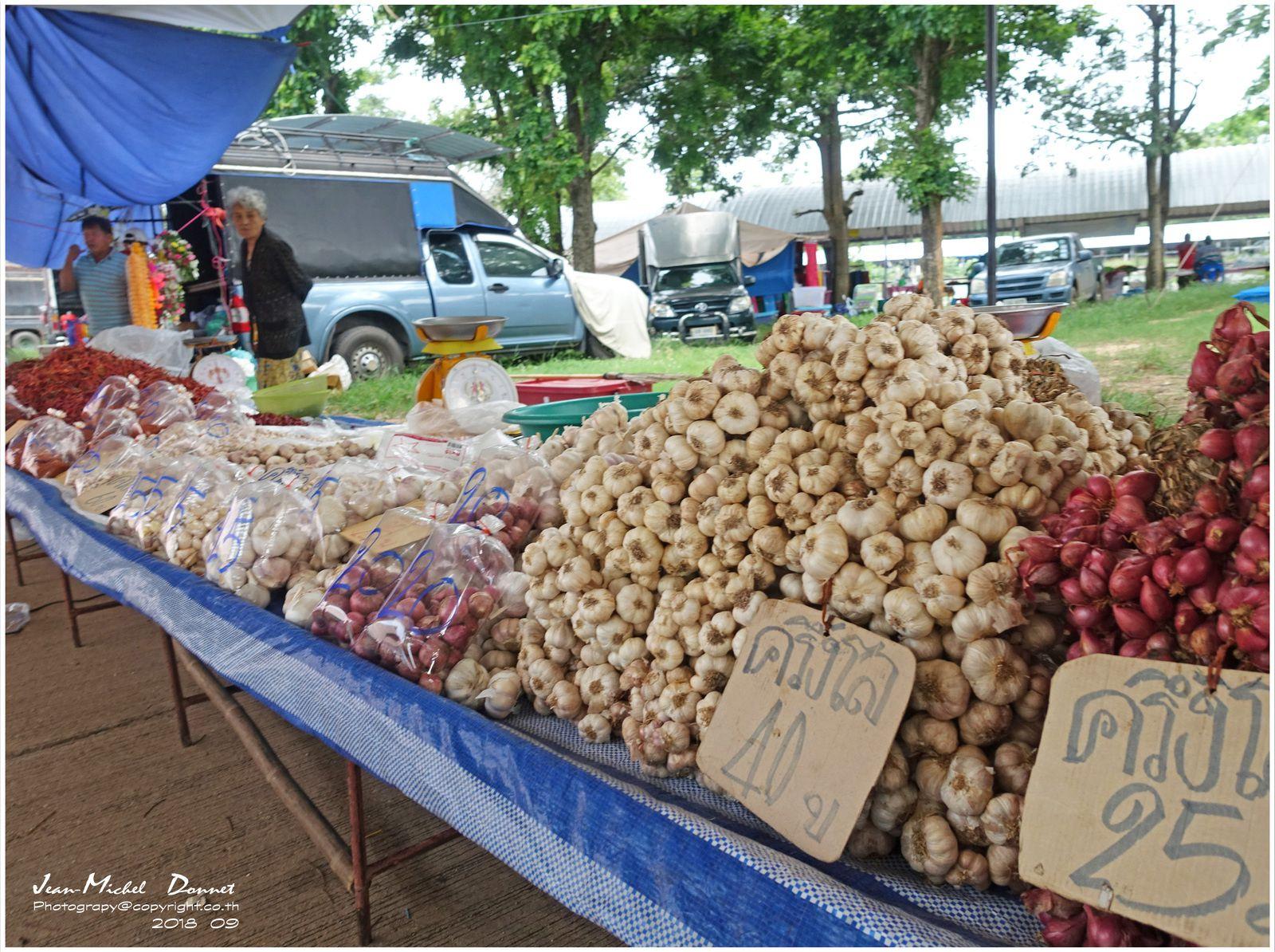 Petite promenade sur le marché...(Thaïland)