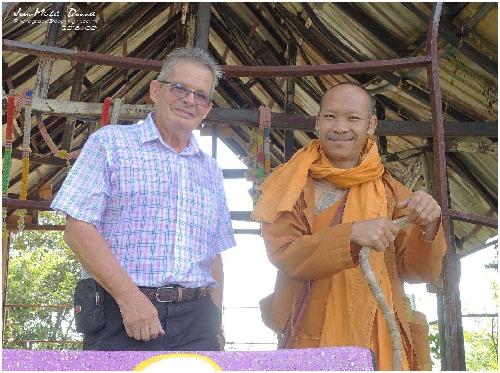 Moments de contemplation et de méditation (Thaïlande)