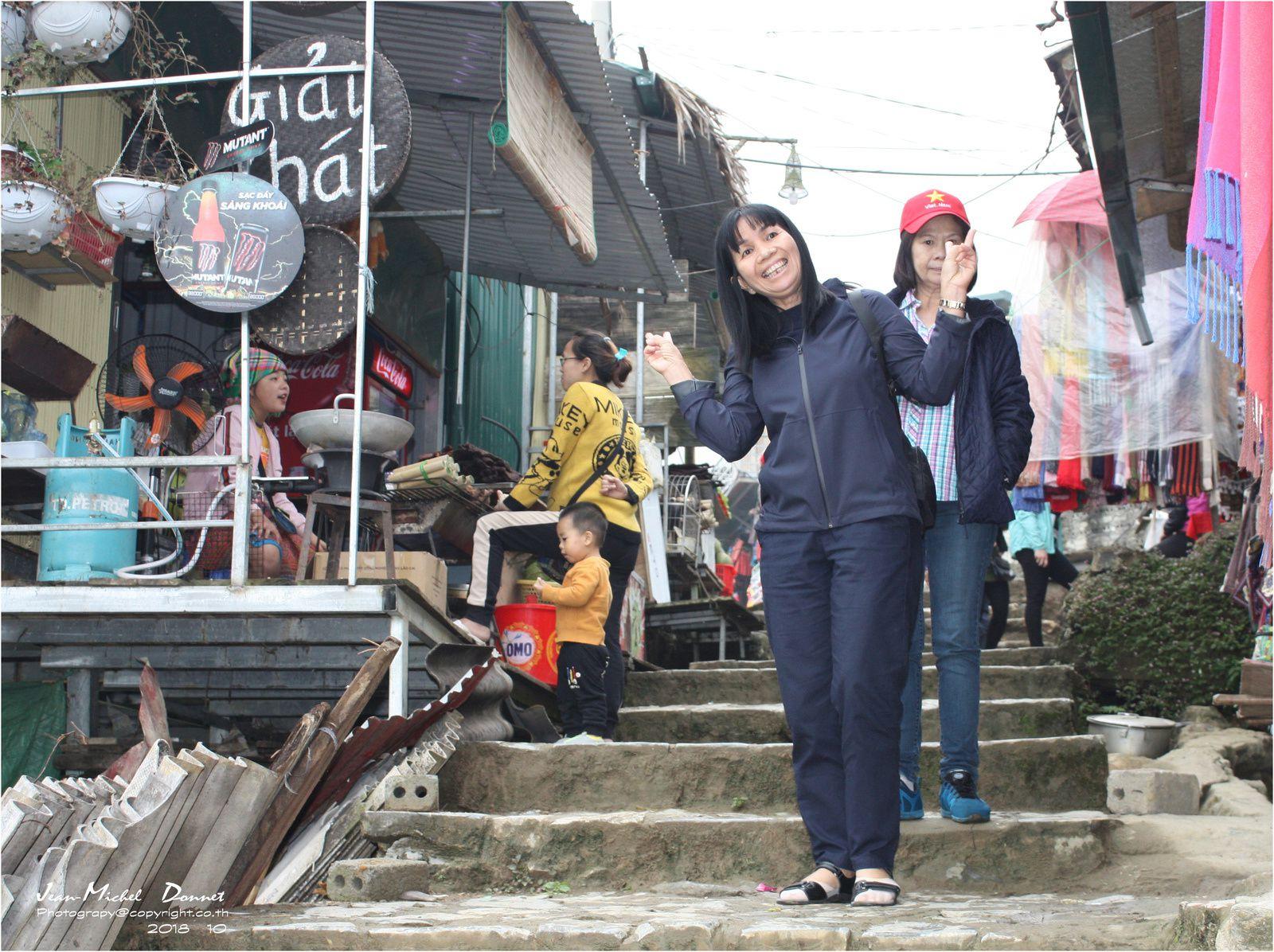 Marché local de Sapa (Vietnam)