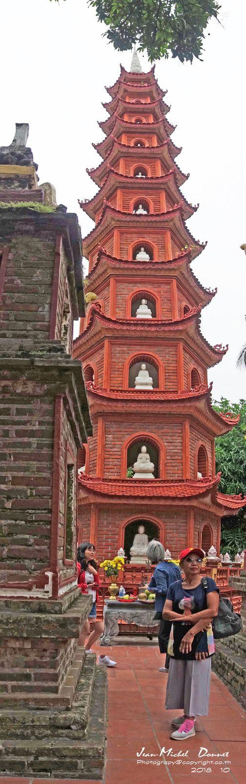 Vues d'Hanoï Capitale du Vietnam