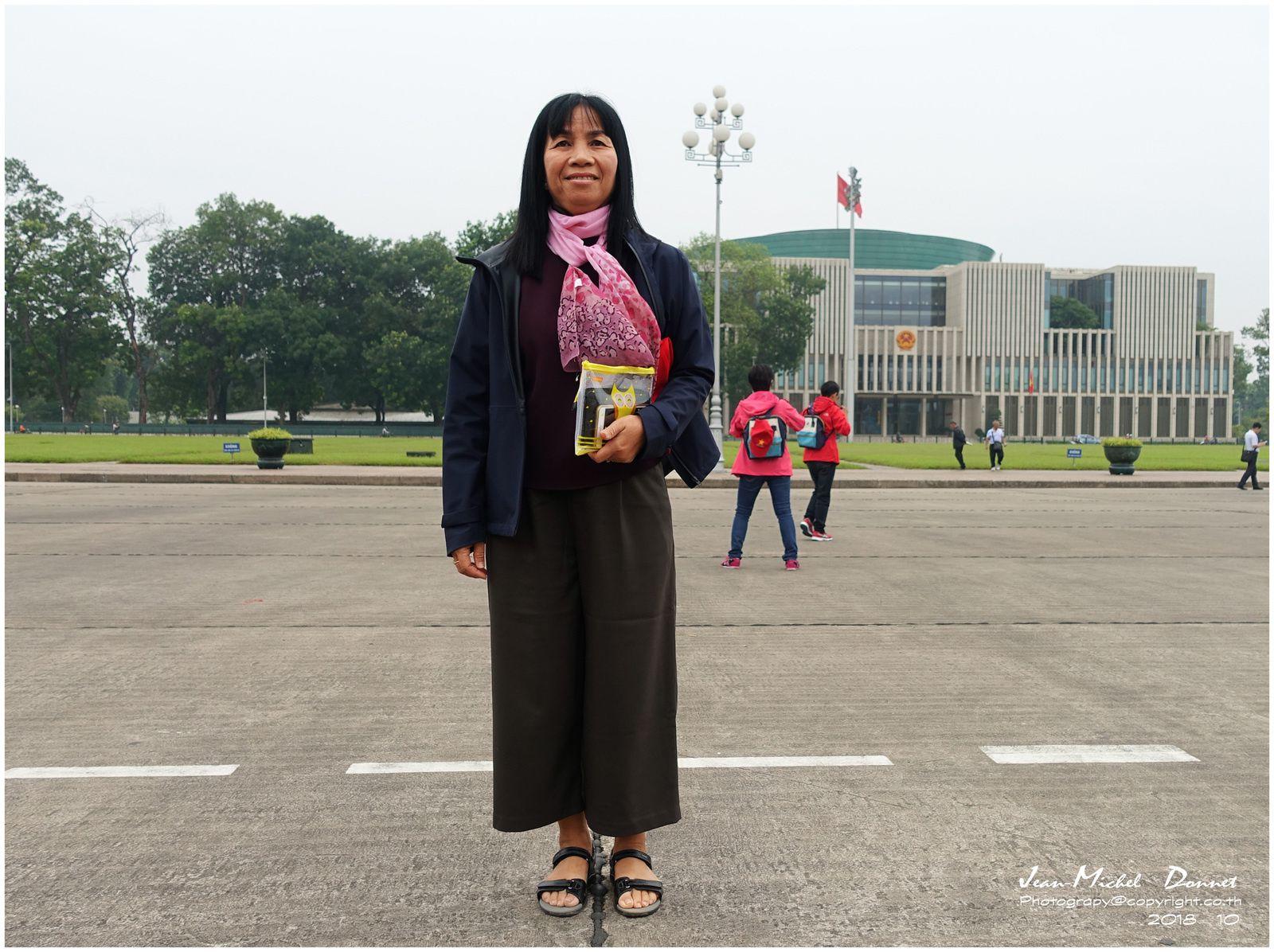 Le mausolée de Hô Chi Minh (Hanoï,Vietnam)