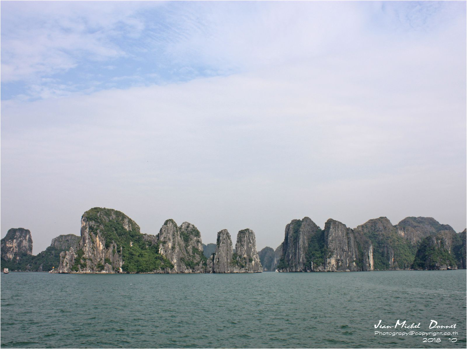 La baie d'Ha Long (Vietnam)