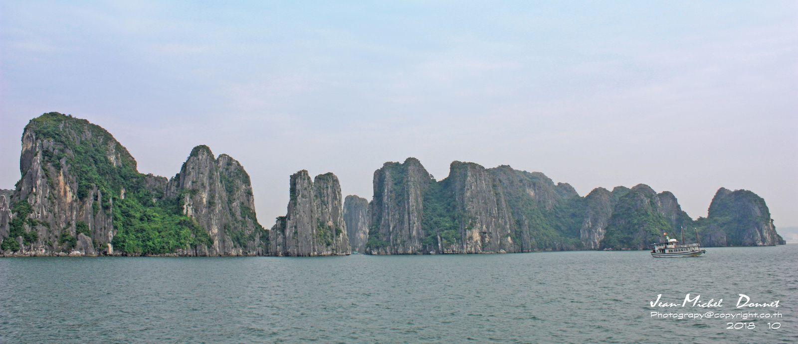 La baie d'Ha Long (Vietnam)