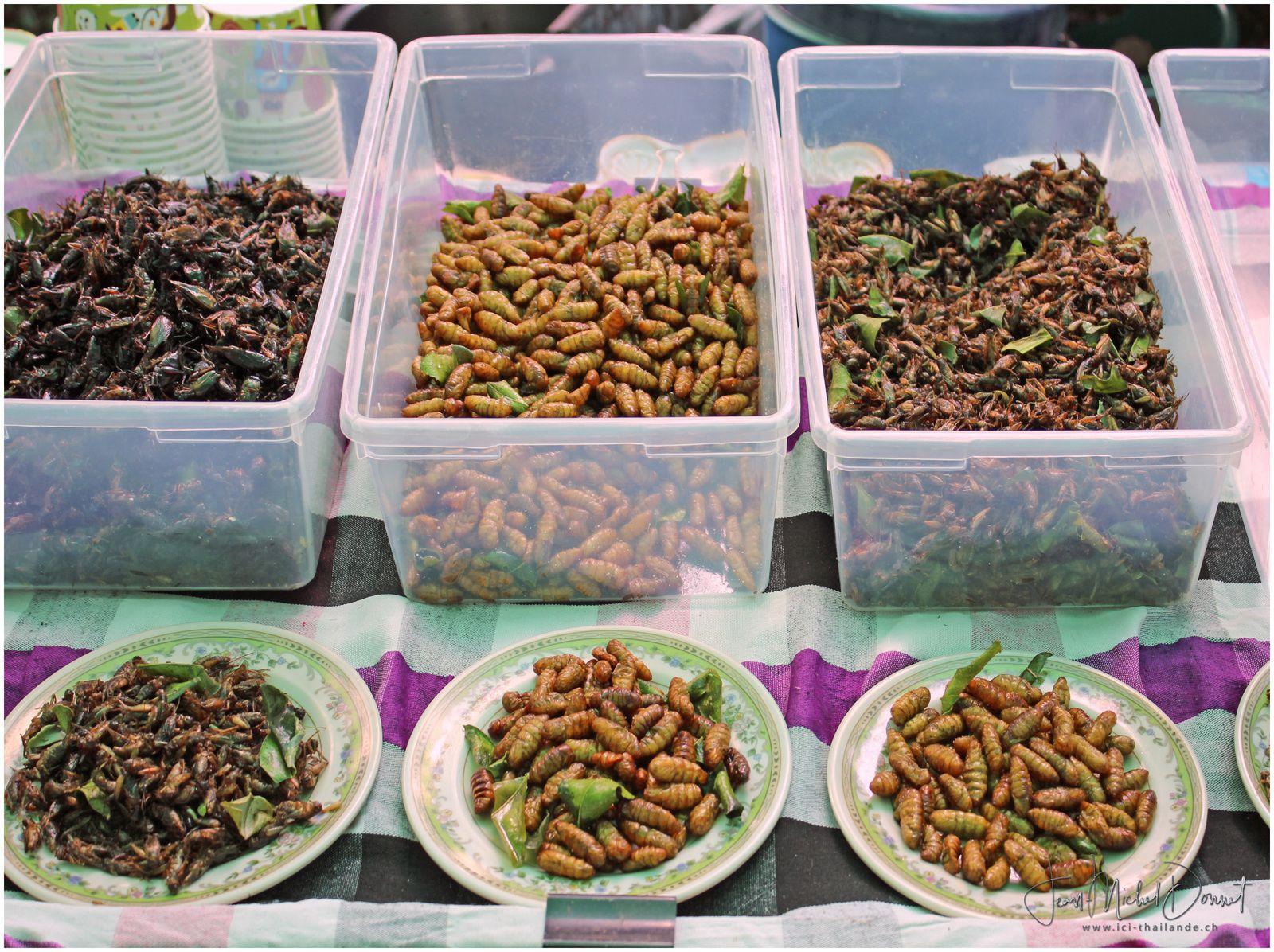 Fête de la soie de Khon Kaen (stands de nourriture)