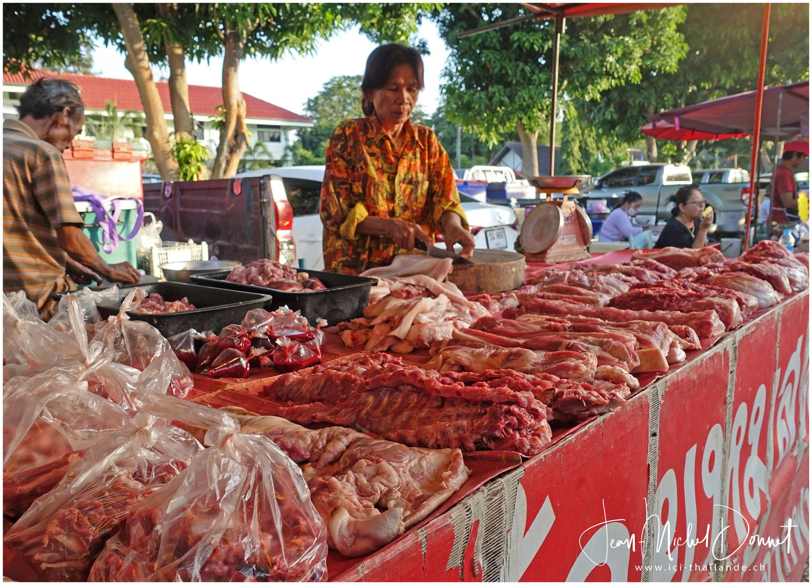 Le marché du mercredi (Thaïlande, Ubonrat)