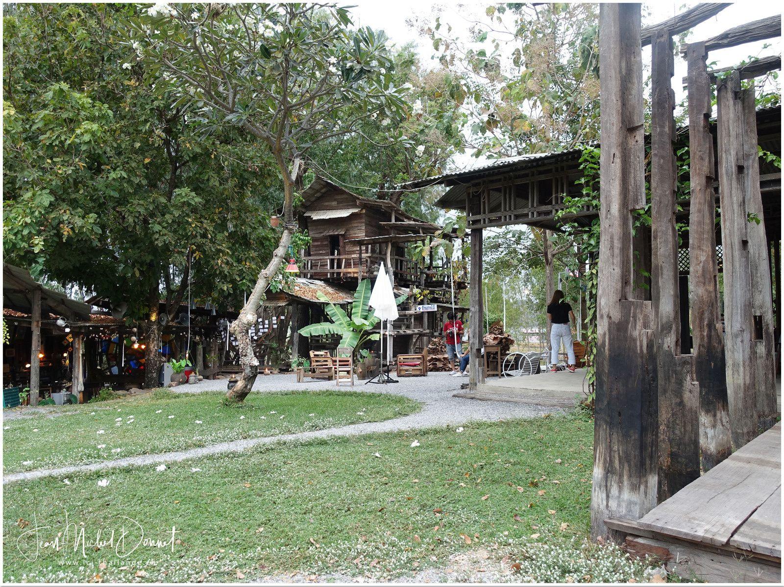 Cafés d'antan en Thaïlande...