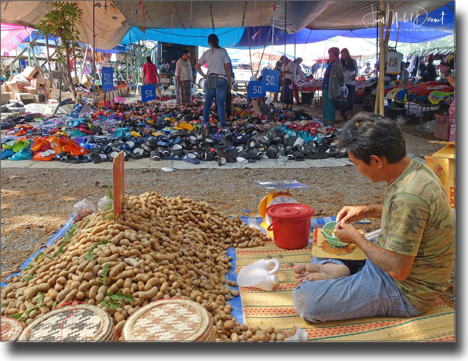 Petite incursion au marché.... (Thaïlande)