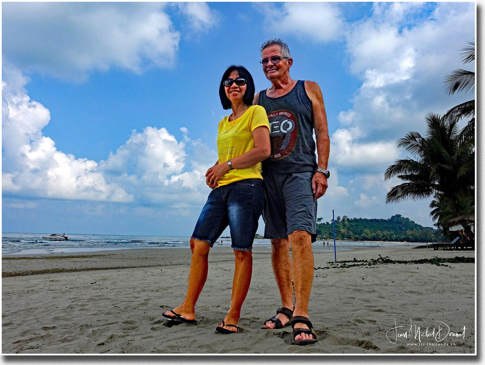 La superbe plage de Klong Prao (Ko Chang)