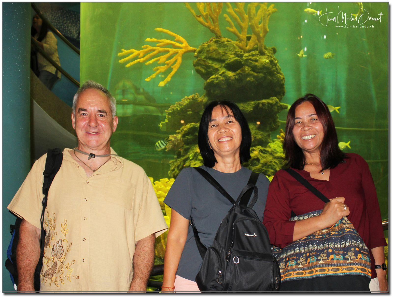 Aquarium de Ban Phe (Rayong, Thaïlande)