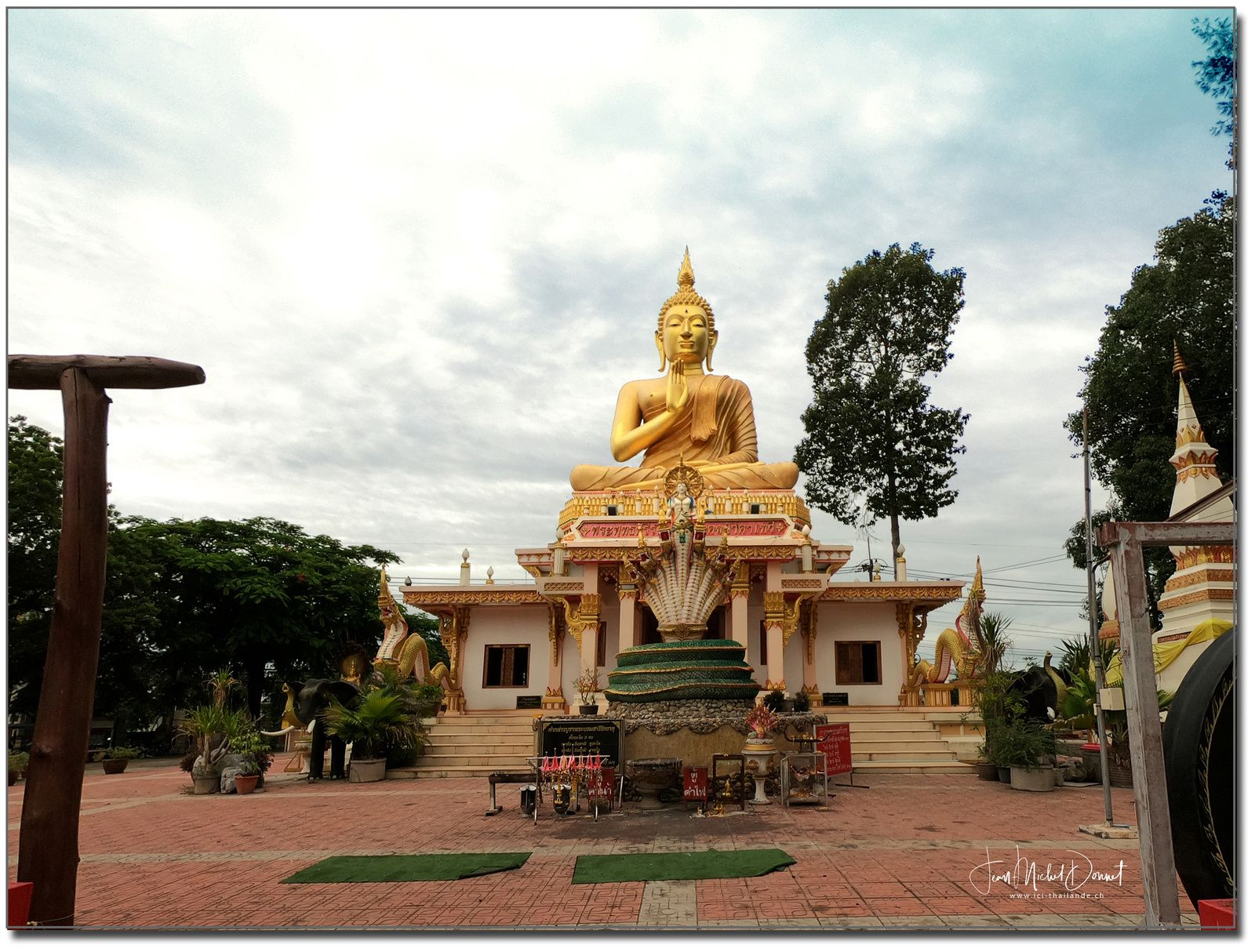 Wat Nakha Thewee (Province d'Udon Thani)
