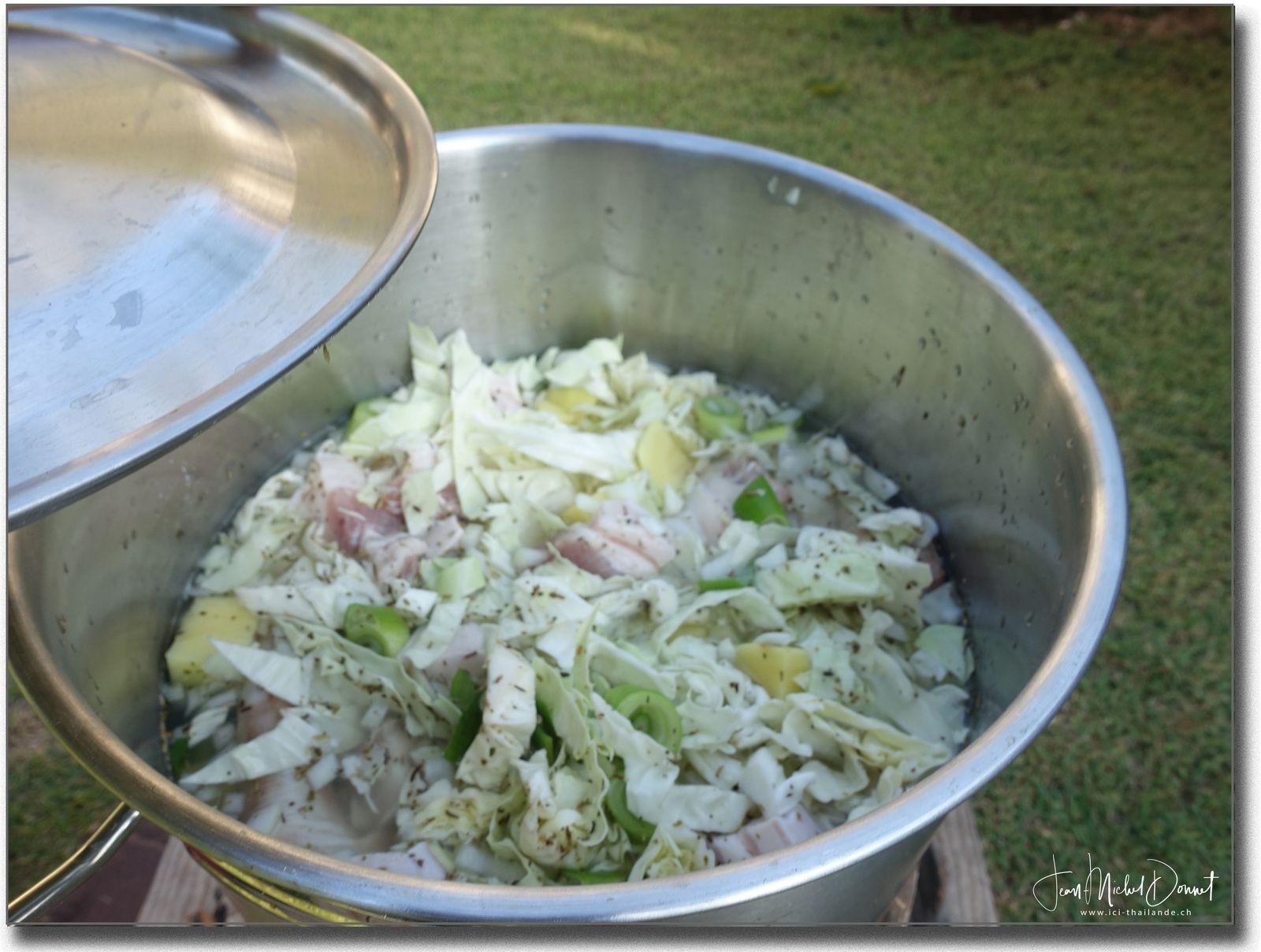 Soupe aux légumes façon Thaïe....