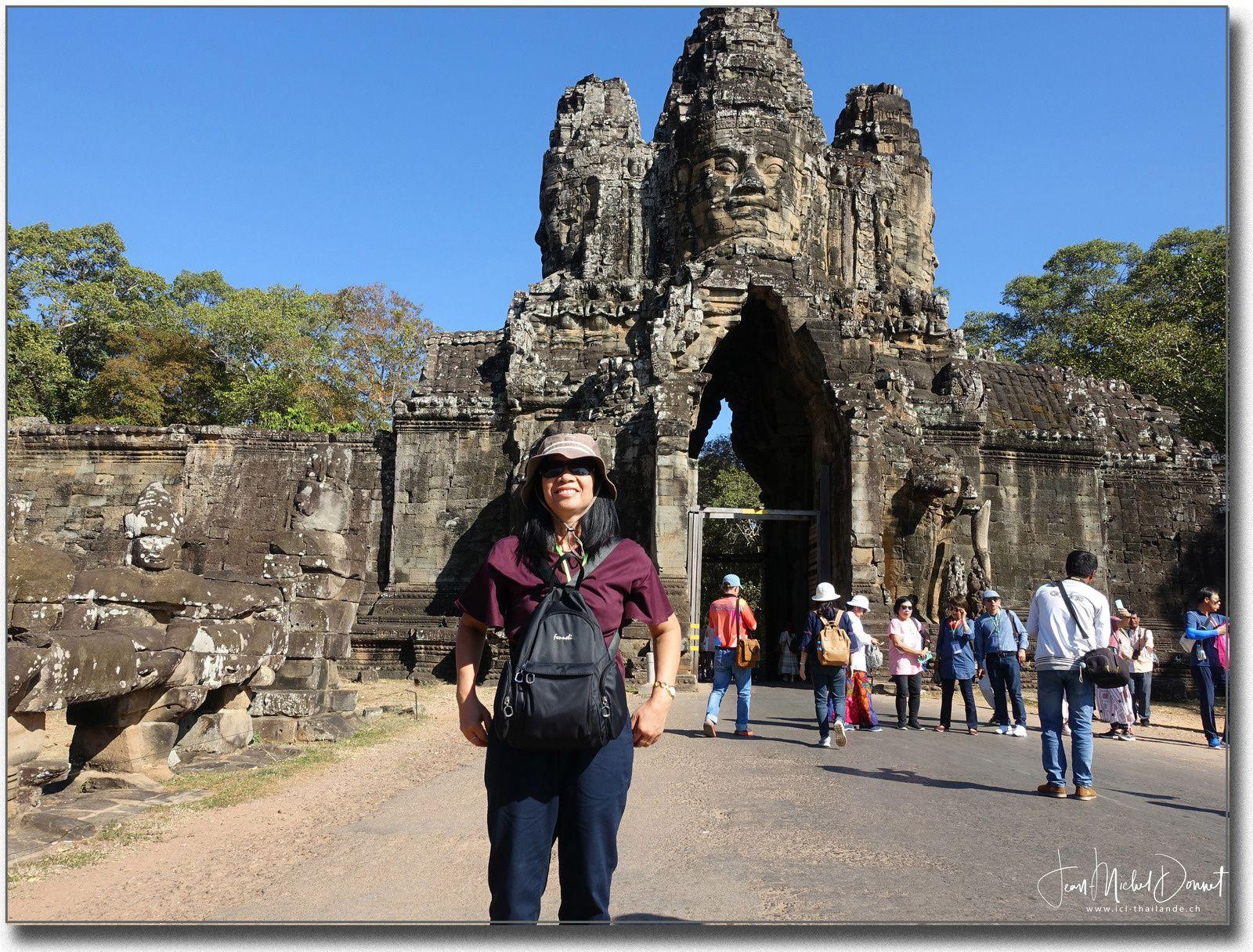 Angkor, Porte Sud Thom
