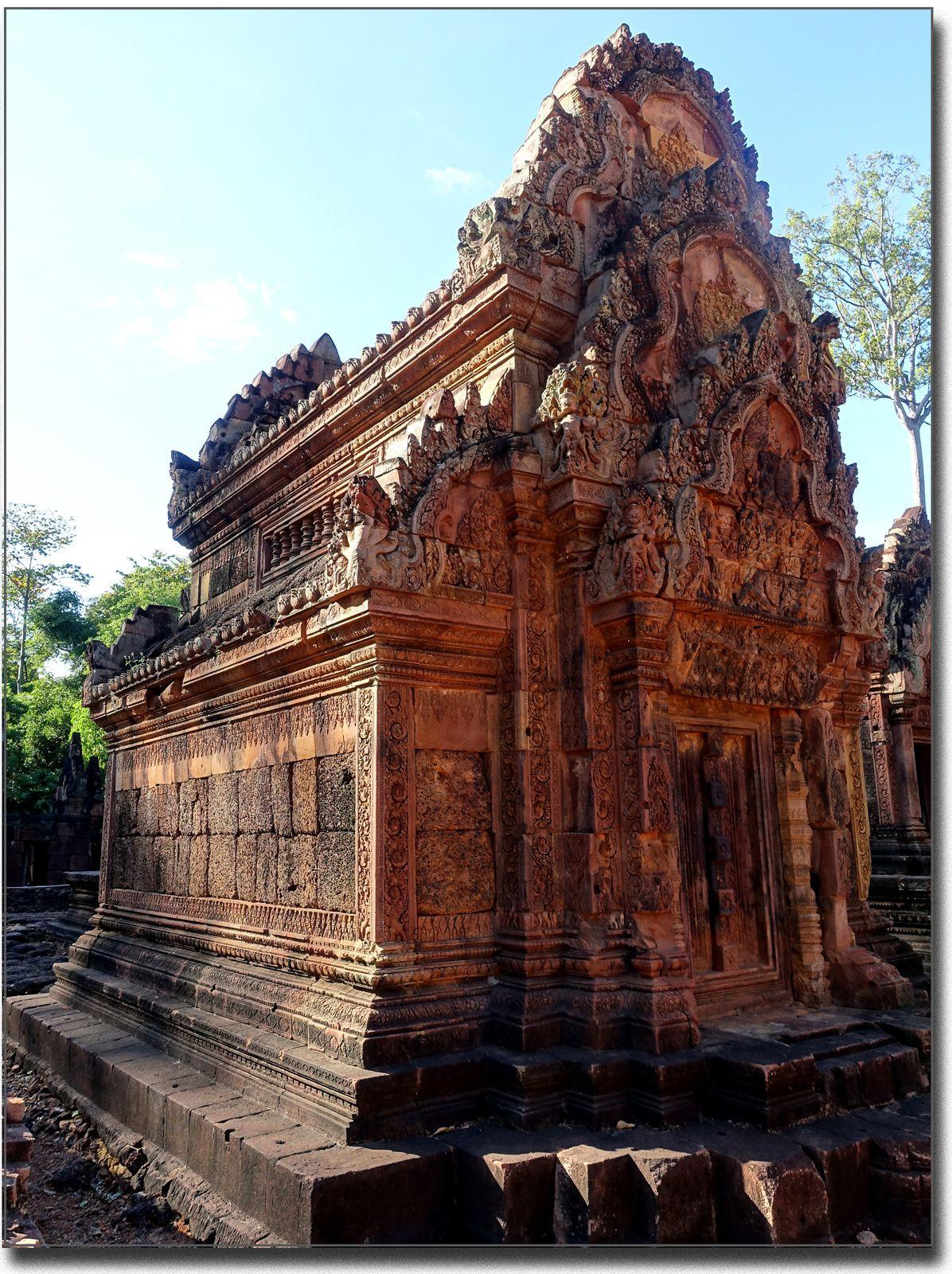 Le dernier site visité Banteay Srei (Angkor, Siem Reap)
