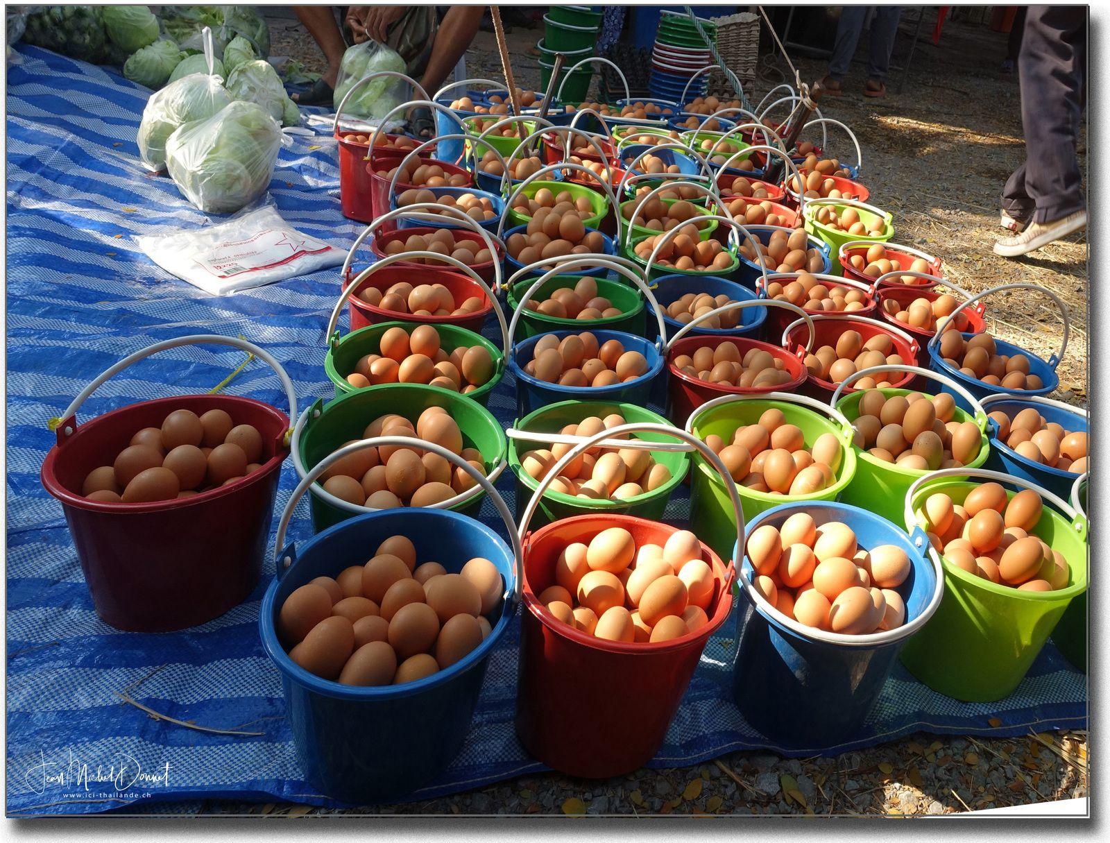 Petit tour sur le marché (Thaïlande)